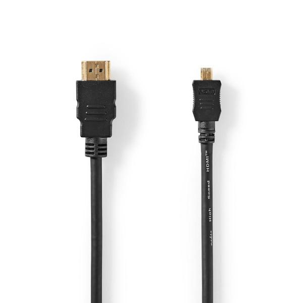 HDMI-kabel 2m svart for Samsung WB650